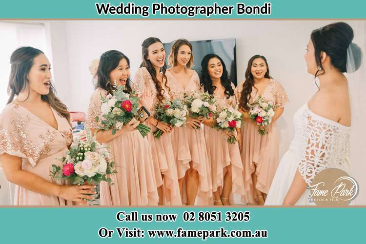 Photo of the Bride and her bridesmaids Bondi NSW 2026