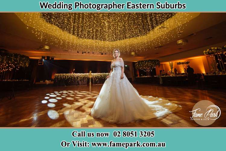 The bride In The Dance Floor Eastern Suburbs