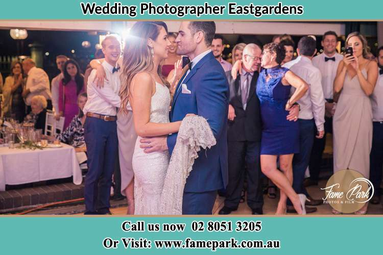 Photo of the Bride and the Groom dancing Eastgardens NSW 2036