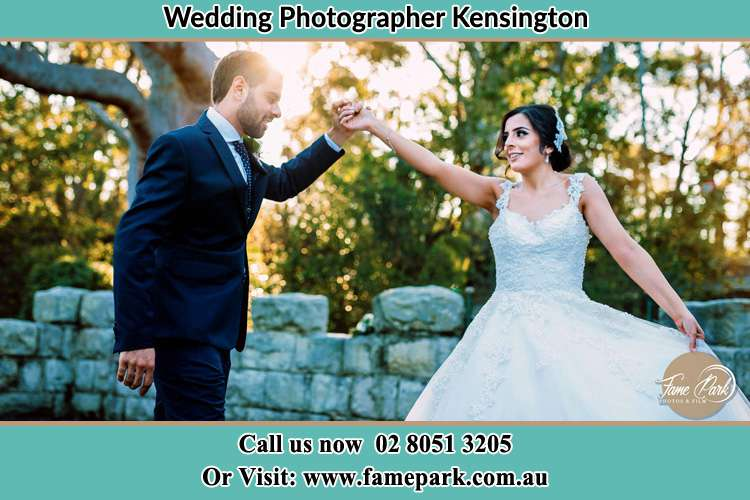 Photo of the Groom and the Bride dancing Kensington NSW 2033