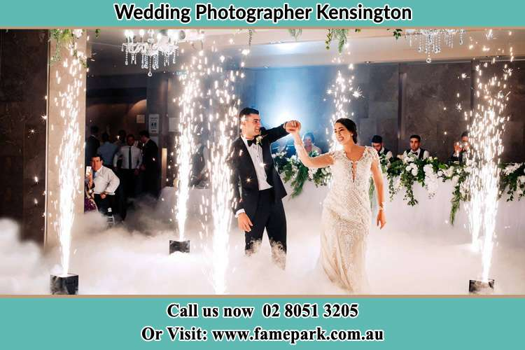 Photo of the Groom and the Bride dancing on the dance floor Kensington NSW 2033