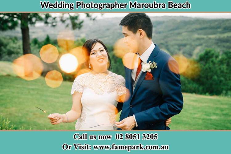 Photo of the Bride and the Groom at the yard Maroubra Beach NSW 2035
