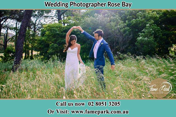 Photo of the Bride and the Groom dancing Rose Bay NSW 2029