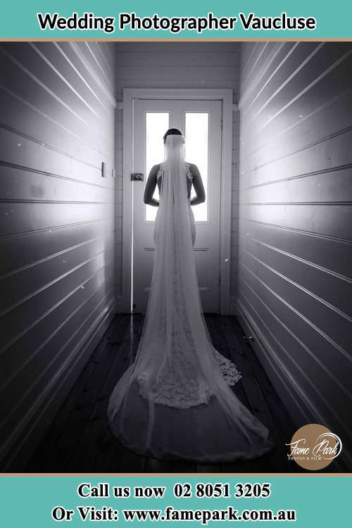 The Bride going out the door Vaucluse NSW 2030