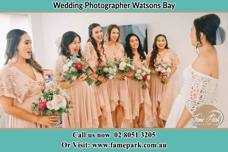 Photo of the Bride and the bridesmaids Watsons Bay NSW 2030